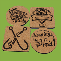 Fishing Themed Coasters
