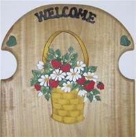 Strawberry and Daisy Basket Perpetual Calendar