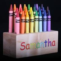 Personalized Crayon Holder