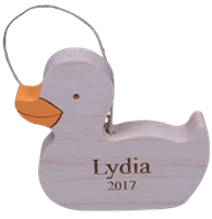 Ducky Ornament