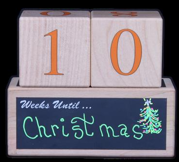 10 Weeks Till Christmas
