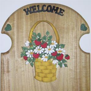 Strawberry and Daisy Basket
