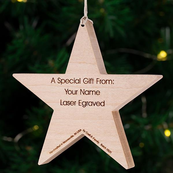 Modern Star - Gift Message