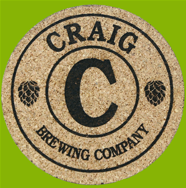 Personalized Brewing Coaster