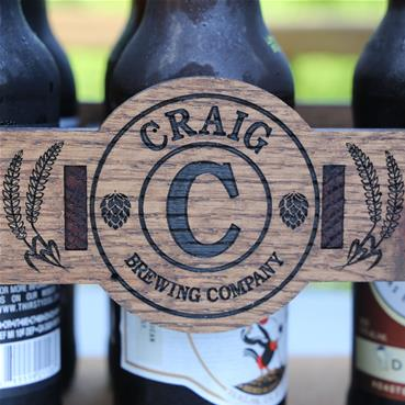 Beer Caddy Personalization