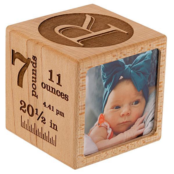 Baby Block Photo Holder Side 4