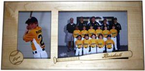 Personalized Baseball Team Frame