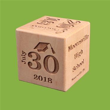 Typeface Graduation Block Side 2 - Date of Graduation