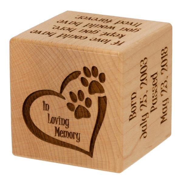Pet Memorial Block