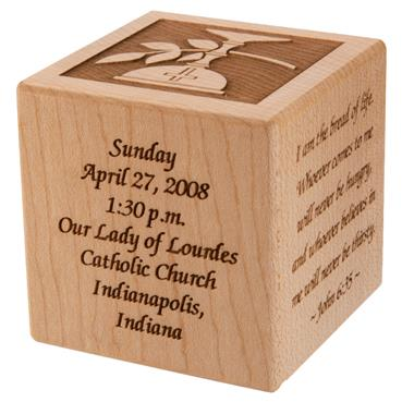 First Communion Block