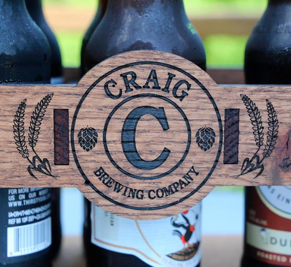 Beer Caddy Personalized