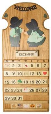 Blank perpetual calendar calendar template 2016 - Wooden perpetual wall calendar ...